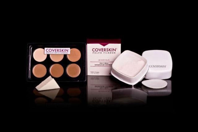 Conoce Coverskin – Maquillaje cubritivo de alta gama